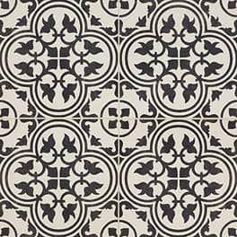 Daltile Memoir Field Tile Petal Black