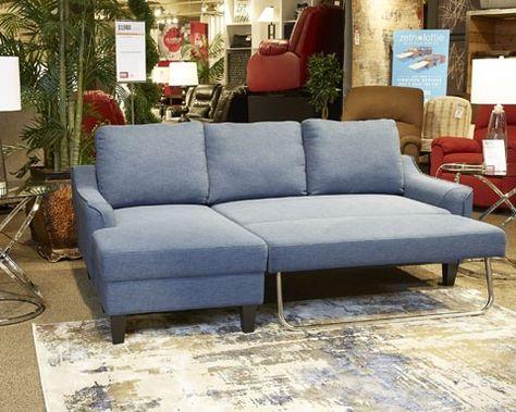 Jarreau Blue Queen Sofa Sleeper