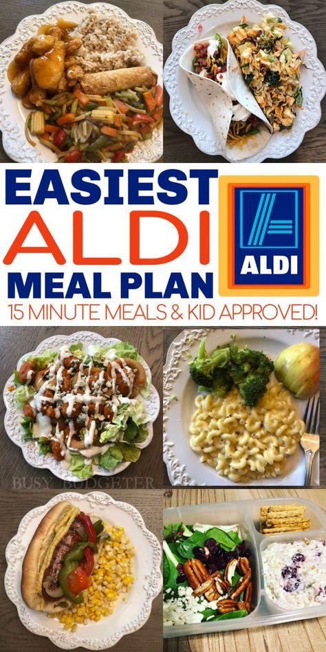 14 Premade Aldi Meals Delivered For Under 150 Aldi Meal Plan Aldi Recipes Meal Planning