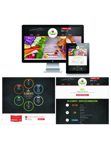 Quarks American Bento Website Website Design Tasteful Creative