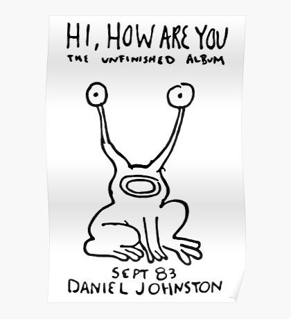 Daniel Johnston Posters