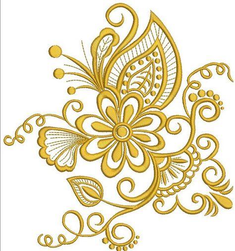 fantastic flower  Machine Embroidery Designs