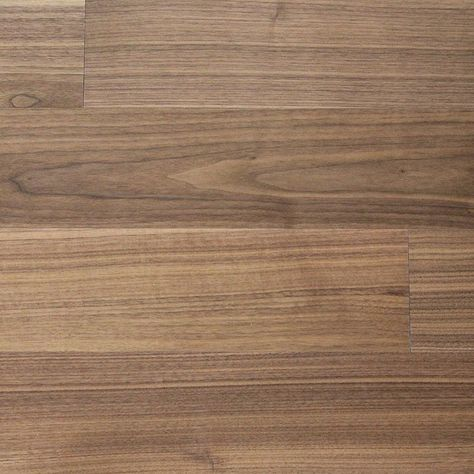 Reclaimed Walnut Engineered flooring & paneling offers a subdued elegance for any space with its medium brown tone and dark grain features.