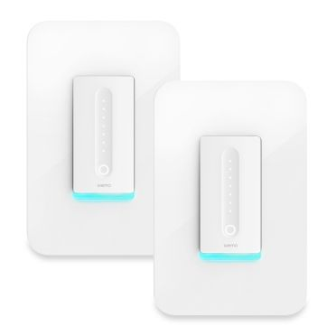 Wemo Wi Fi Smart Dimmer 2 Pack P F7c059 Bdl Dimmer Light Switch