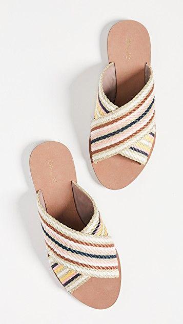 b793ccf757c0 Cindi Slide Sandals в 2019 г. | Обувь | Обувь, Цвет слоновой кости и ...