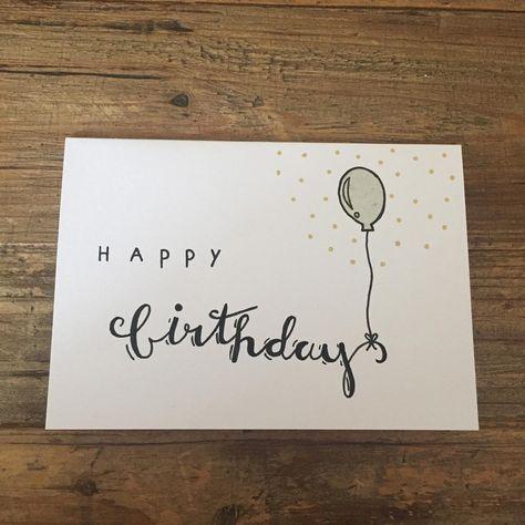 Happy Birthday 🎈 #handletteren #handlettering #happy #birthday #happybirthday #verjaardag #fijneverjaardag #poscapens #posca #micronpen…