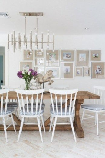 Beautiful Beach Themed Dining Room Ideas 31 White Dining Room White Dining Room Chairs Dining Room Furniture