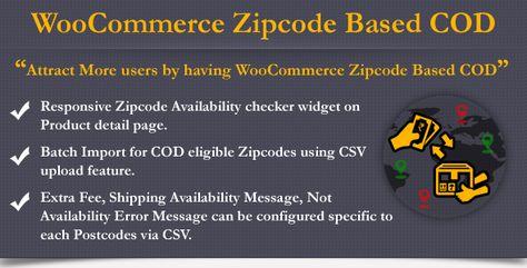 WooCommerce Zipcode Based COD | Codelib App