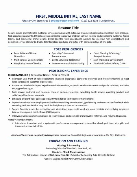 Pin On Resume Layout Font Tips Interview Questions