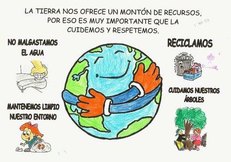 La Tierra Nos Ofrece Un Montón De Recursos Por Eso Es Muy