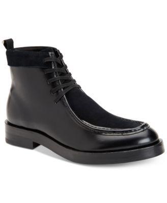 9c65cc7c3b8 Calvin Klein Men s Rafi Box Leather Boots