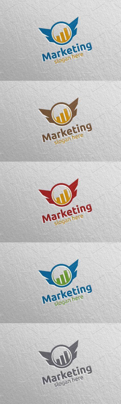Marketing Financial Advisor Logo 36