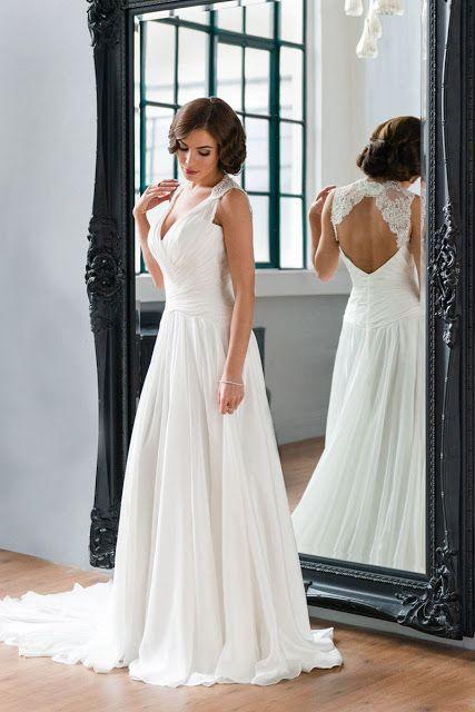 Chiffon Wedding Dress Bustle Chiffon Wedding Dress Davids
