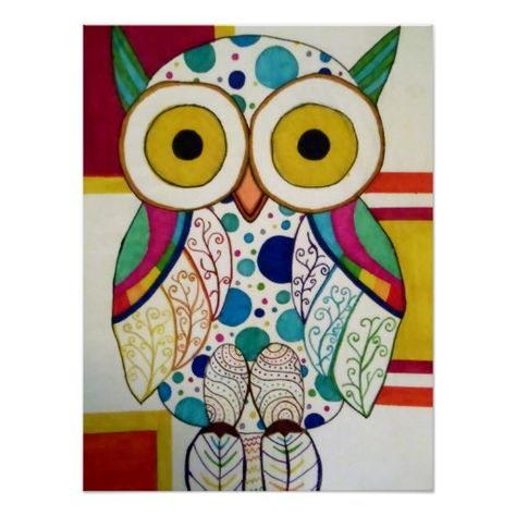Owl poster This is an affiliate link and I will be compensated if you make a purchase after clicking on my link.