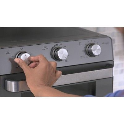 Oster Countertop Oven With Air Fryer Silver Products
