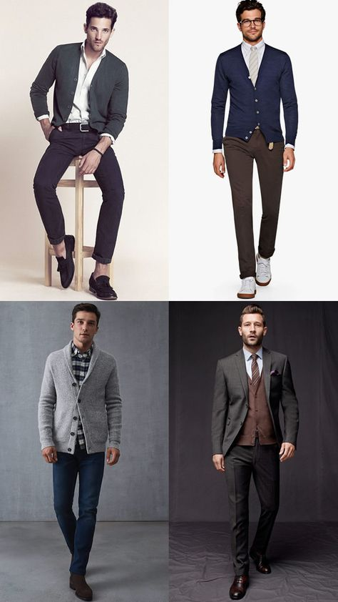 How To Wear A Cardigan Without Looking Like Your Grandad