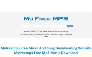 My free mp3 download songs