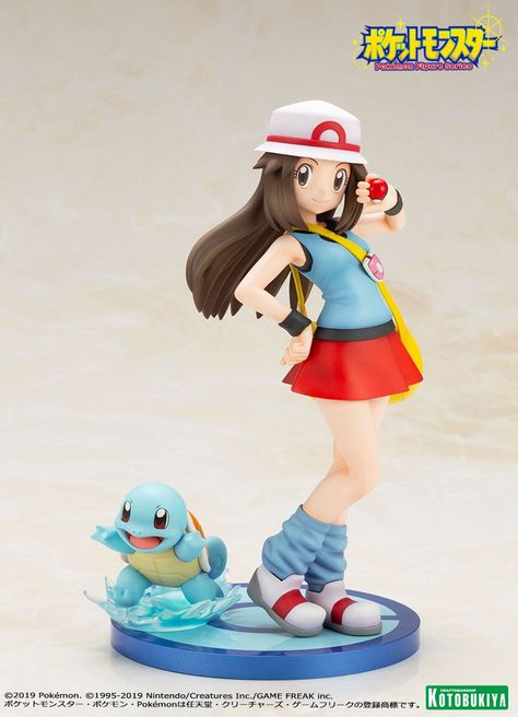 Pokemon Series Selene Mizuku With Mokuroh Rowlet 1//8 Scale PVC Figure New In Box