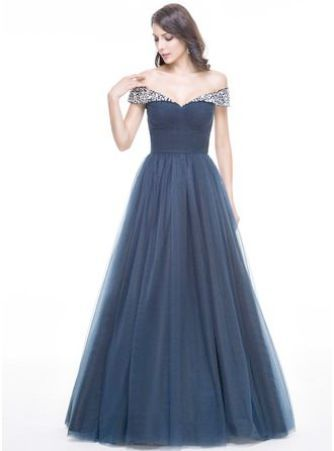Dresses, Gowns, Tulle evening dress
