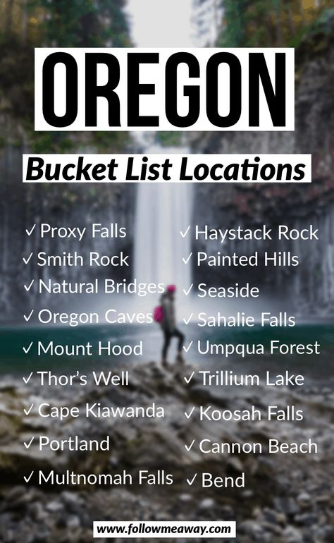The Ultimate Oregon Road Trip Itinerary You Should Steal Oregon Bucket List Locations Travel List, Travel Goals, Travel Advice, Shopping Travel, Usa Travel, Travel Divas, Travel Flights, Beach Travel, Viajes