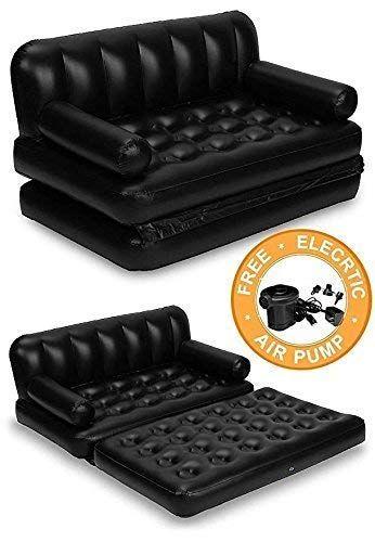Cool Zz Zonex 5 In 1 Air Sofa Cum Bed With Pump Lounge Couch Machost Co Dining Chair Design Ideas Machostcouk