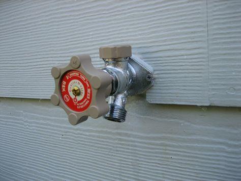 Replacing A Freeze Proof Faucet Outdoor Faucet Repair Diy