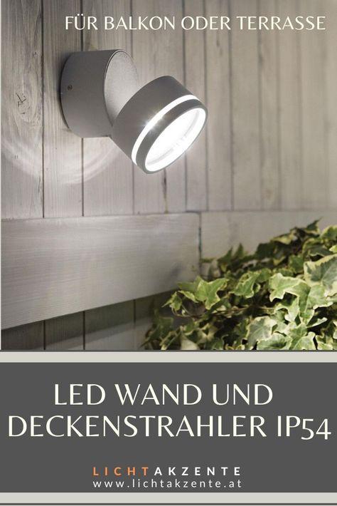 LED Spot Design Flur Deckenleuchte Strahler Zimmer Küchen Deckenlampe kippbar