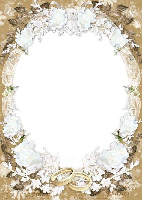 Wedding romantic photo frame - Soft light of Love