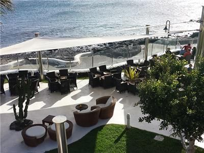 Marea Terraza Lounge Bar Lanzarote In 2019 Canary Islands