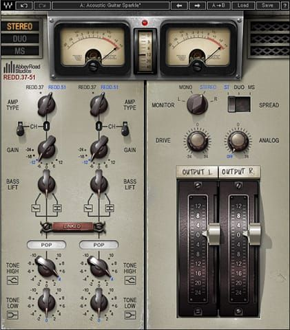 Analysis Of The Waves Redd 37 51 Plugin And Some Of My Presets To Go With It Waves Plugins Plugins Audio