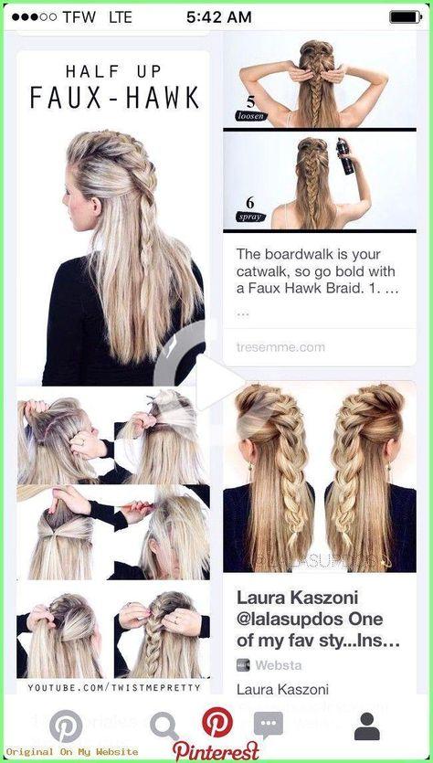 Hair Diy - The do today! Professional! #diyhairjewelryforbra ... # #The professional #diy #diyhairjewelryforbra #erledigen #haarschmuck #heute #braidhairstyles