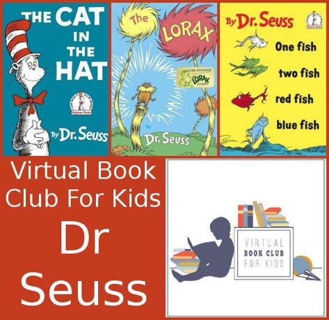 February Virtual Book Club: Dr Seuss - 3Dinosaurs.com