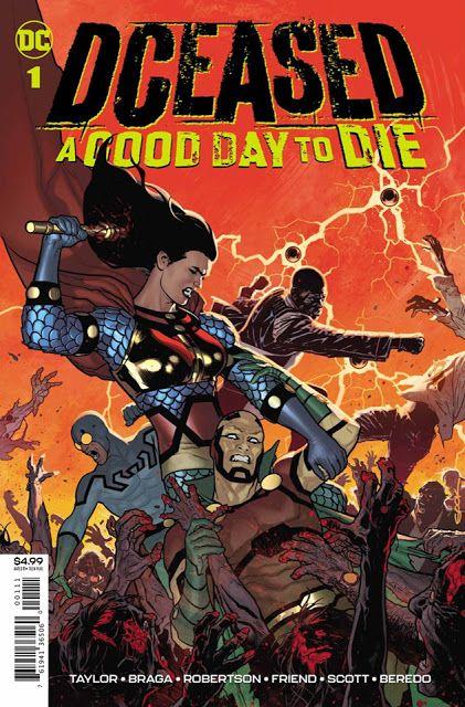 Halloween 2020 Descargar Mega DCeased: A Good Day to Die (One Shot) [Español] [Mega] en 2020