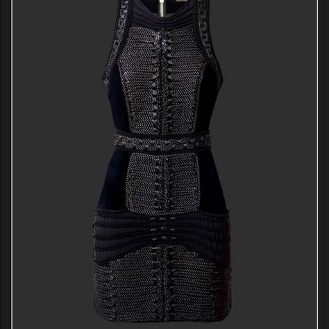 details for best prices to buy H&M Balmain Braided Rope Dress - BNWT - Size 4!! Sold out in ...