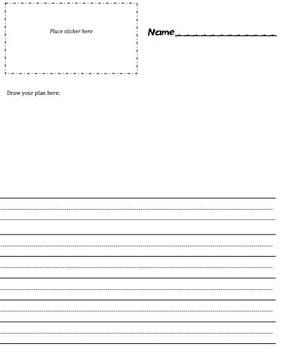Free Printable Kindergarten Blank Lined Paper Teach Writing - printable writing lines