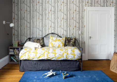 Child's Play - A Designer's Home That Takes Wallpaper To The Next Level - Photos