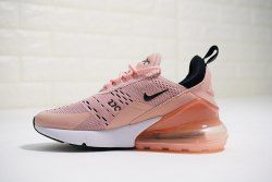 air max 270 pink black white