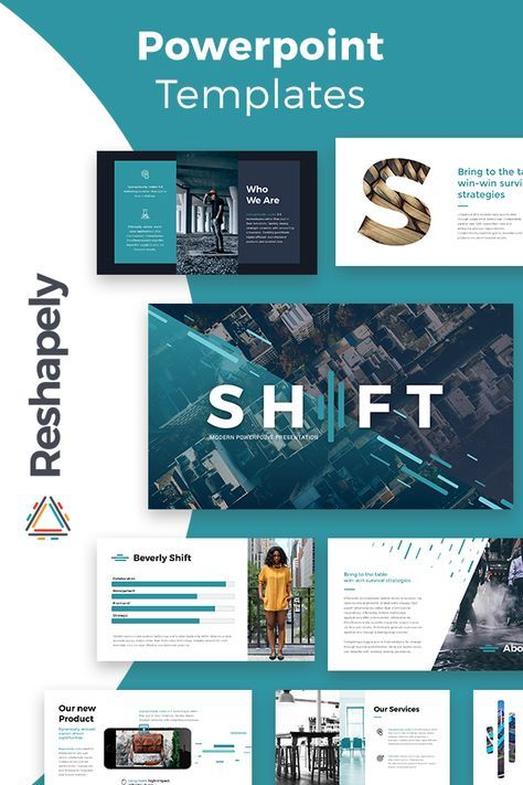 Shift Modern Powerpoint Template | Transformation