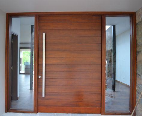 Puertas de madera de cedro exteriores