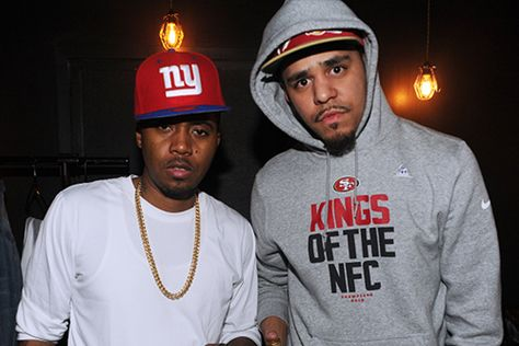 """Listen to J. Cole's Remix for """"Let Nas Down"""" featuring Nas"""