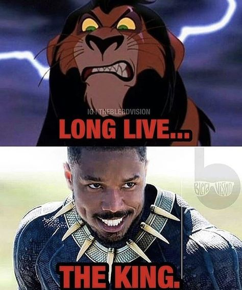 Black Panther And The Lion King Are Actually The Same Movie