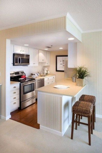 Simple Small Kitchen Design Ideas 2019 56 Small Apartment Kitchen Decor Small Apartment Kitchen Kitchen Decor Apartment