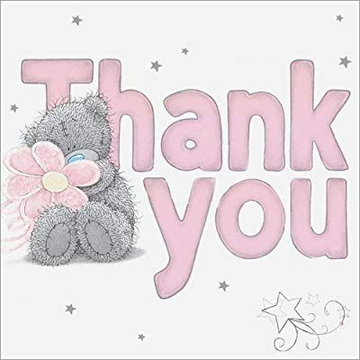 Me to You Tatty Teddy Thank You Cards - Pack of 10: Amazon.co.uk: Office Products