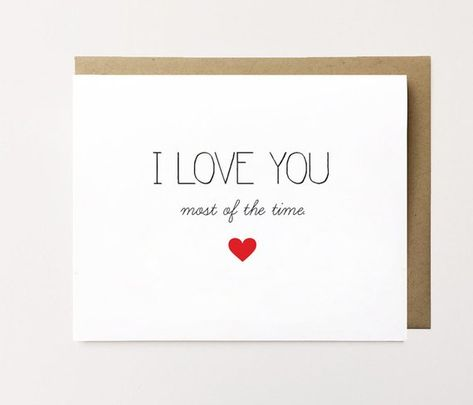 Funny long term relationship card, Funny love card for boyfriend, Funny anniversary card, I love you