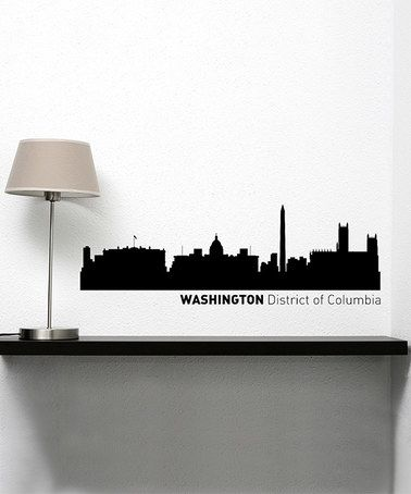 Washington D C Skyline Wall Decal By Larger Than Life