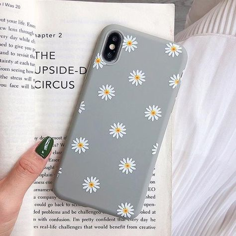 Cute Flowers Phone Case For iPhone X XR XS Max 7 8 6 6s Plus 5 5s SE C – elegantonlinemarket