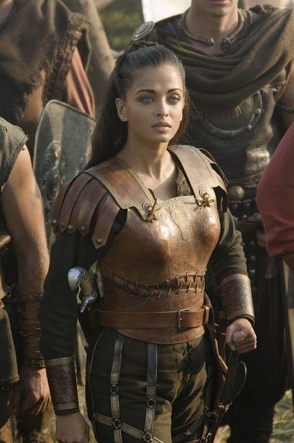 Aishwarya Rai The Goddess Of Beauty Aishwarya Rai Hollywood Movie The Last Legion Scen Warrior Woman The Last Legion Actress Aishwarya Rai
