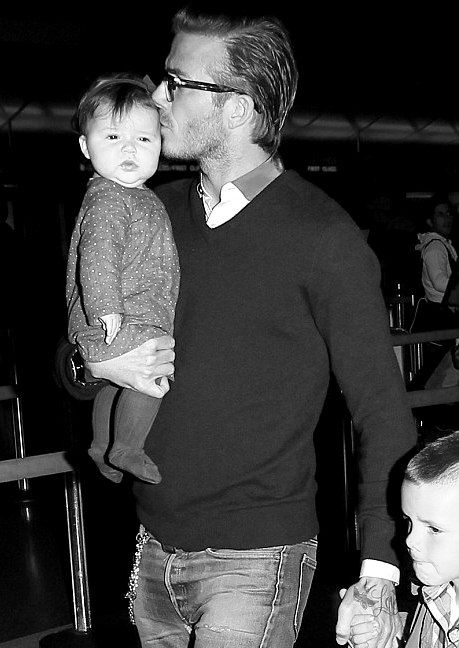 Nothing is better then a man who is good with kids, and it doesn't hurt when he looks like David Beckham.