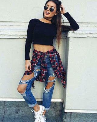 16 outfits URBANOS tumblr para chicas como TU | Jeans en