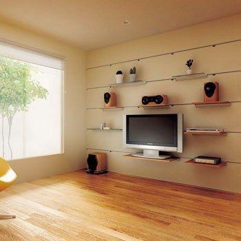 壁掛けテレビにdvdプレーヤー レコーダーはどこに置く 設置場所 設置例まとめ 壁掛けテレビ リビング エアコン テレビ棚